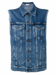 Faith Connexion denim waistcoat - Blue