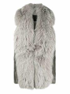 Blancha longline gilet - Grey