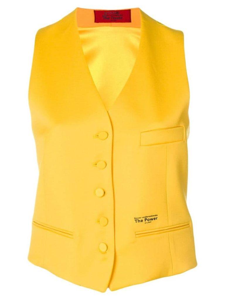 Styland tailored suit waistcoat - Yellow