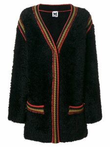M Missoni furry cardi-coat - Black