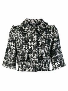 Dolce & Gabbana cropped jacket - Black