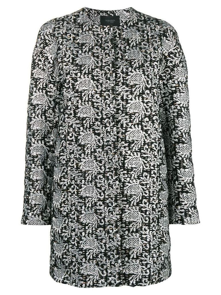 Giambattista Valli embroidered cardi-coat - Metallic