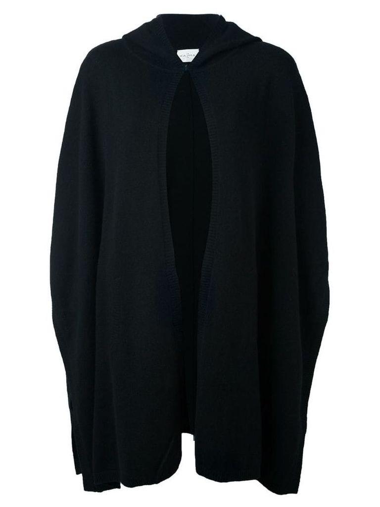 Le Kasha cashmere 'Utah' knit poncho - Black