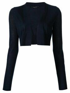 Derek Lam Noemi Long Sleeve Cardigan - Blue