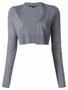 Derek Lam Noemi Long Sleeve Cardigan - Grey