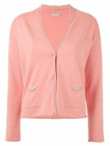 Le Tricot Perugia knitted cardigan - Pink