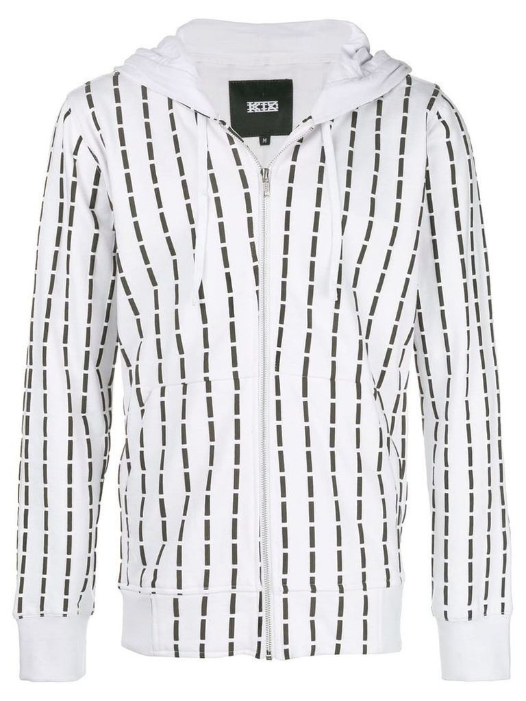 KTZ stitch print jacket - White