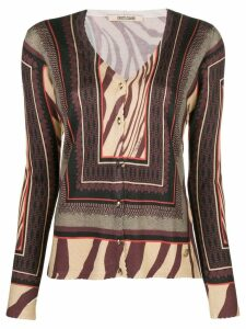 Roberto Cavalli ethnic knit cardigan - Neutrals