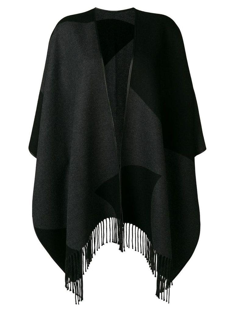 Salvatore Ferragamo colour block cardigan - Black