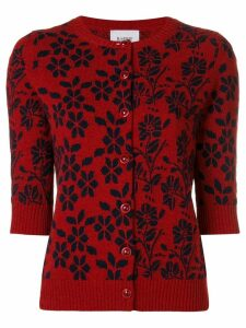 Barrie New Delft cashmere cardigan - Red