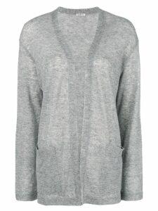 Barena open front cardigan - Grey