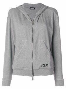 Dsquared2 zipped cardigan - Grey