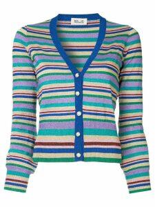 Baum Und Pferdgarten striped v-neck cardigan - Multicolour