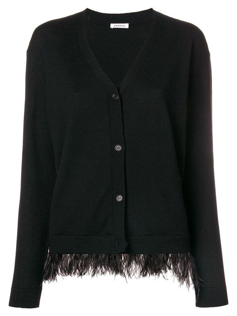 P.A.R.O.S.H. buttoned cardigan - Black