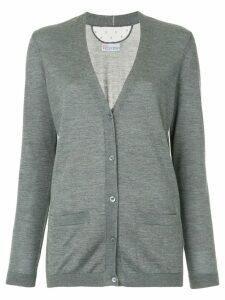 Red Valentino V-neck cardigan - Grey