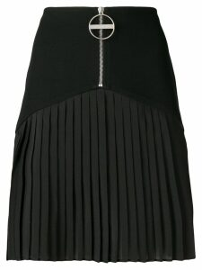 Givenchy zipped pleated skirt - Black