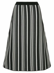 Antonio Marras knitted stripe skirt - Black