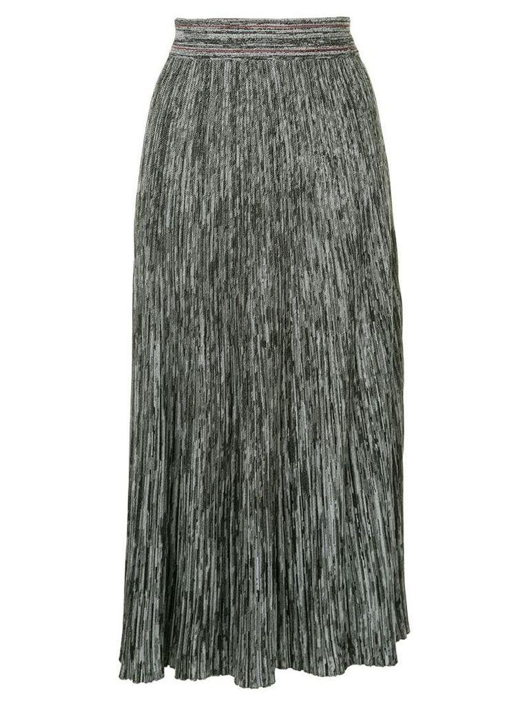 Marni knitted midi skirt - Grey
