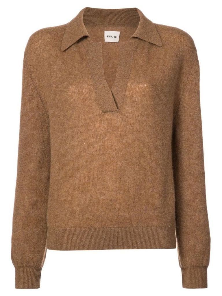 Khaite Jo jumper - Brown