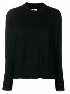 Mm6 Maison Margiela round neck jumper - Black