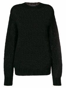 Prada chunky sweater - Black