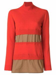 Marni turtle neck sweater - Yellow