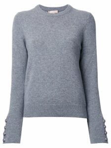 Michael Kors Collection cashmere crew neck jumper - Grey