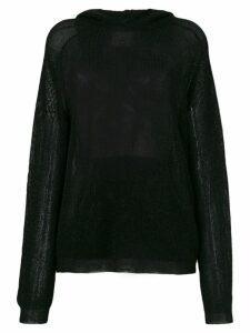 Laneus hooded sweater - Black