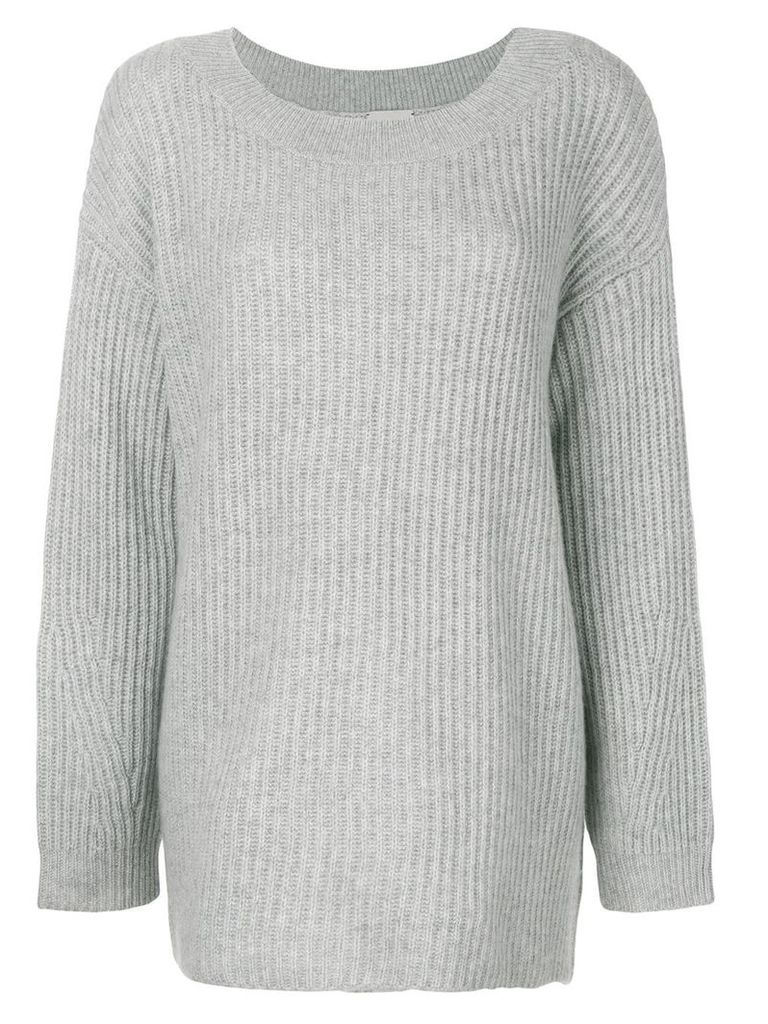 Le Kasha Hyeres boat neck sweater - Grey