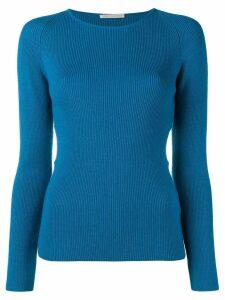Emilia Wickstead side cut out jumper - Blue
