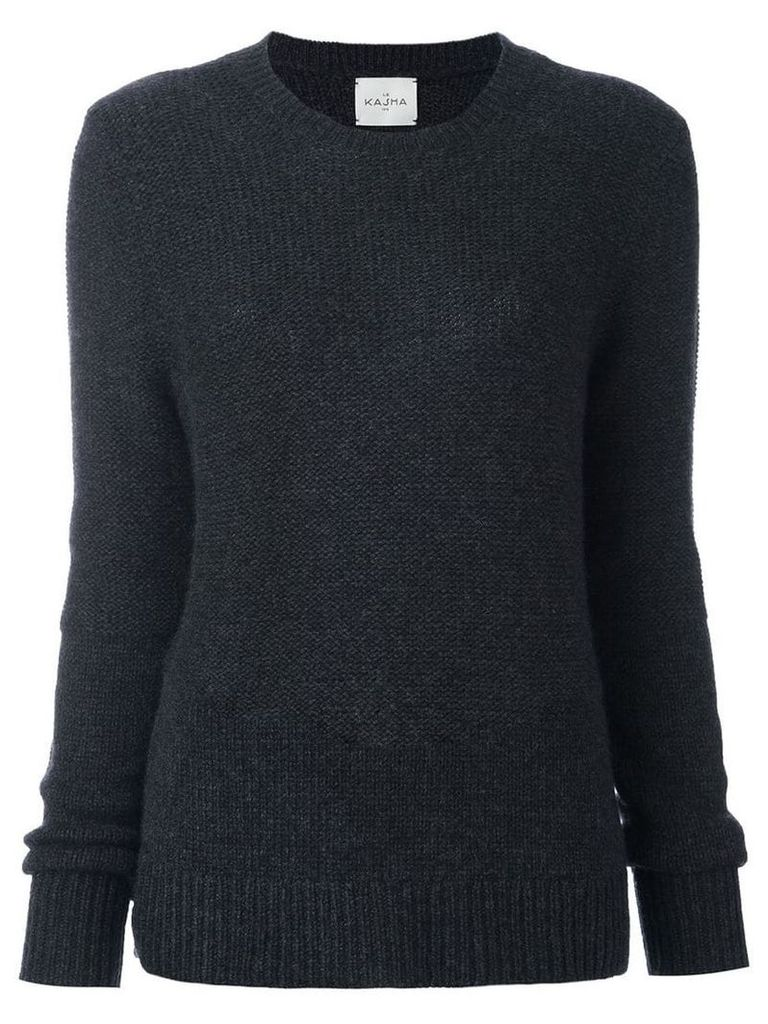 Le Kasha cashmere Gstaad jumper - Grey