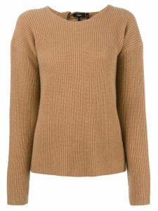 Theory cashmere Twylina jumper - Brown