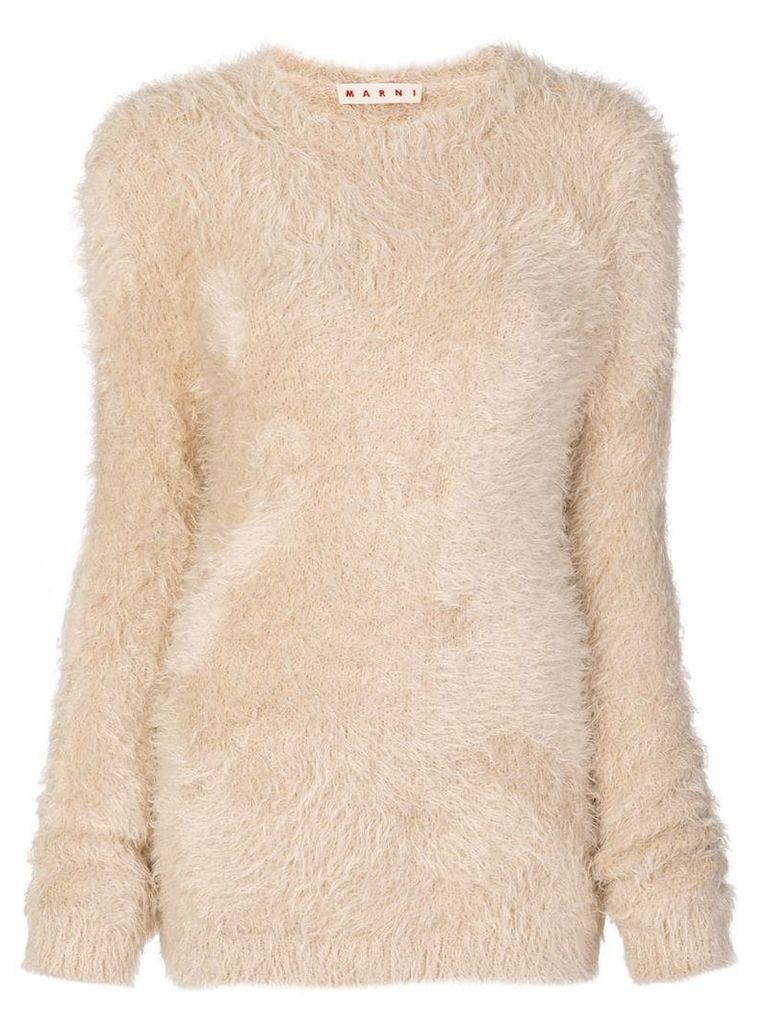 Marni fuzzy jumper - Neutrals