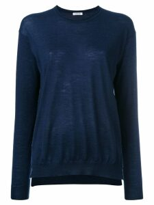 P.A.R.O.S.H. cashmere crew neck sweater - Blue