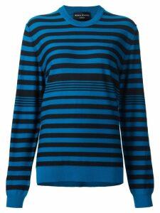 Sonia Rykiel striped pullover - Blue
