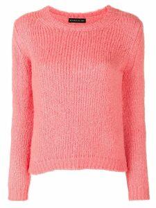 Etro textured knit jumper - Pink