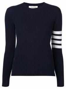Thom Browne 4-bar stripe jumper - Blue