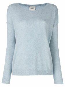 Le Kasha cashmere Capri jumper - Blue