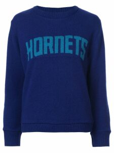 The Elder Statesman Hornets jumper - Blue