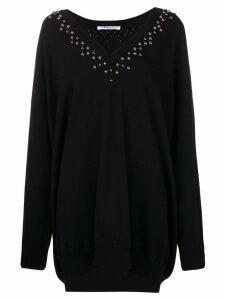 Givenchy embellished long-sleeve sweater - Black