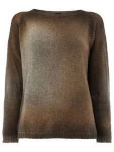 Avant Toi overdyed sweater - Brown