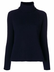 Piazza Sempione turtleneck sweater - Blue