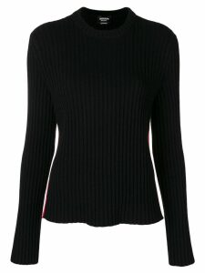 Calvin Klein 205W39nyc ribbed knit sweater - Black