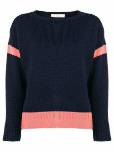 Golden Goose stripe insert sweater - Blue