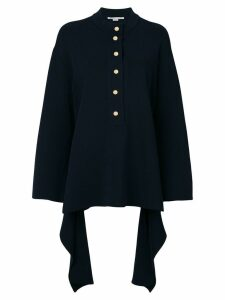 Stella McCartney knit buttoned top - Blue