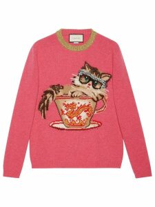 Gucci Ignasi Monreal wool knit sweater - Pink