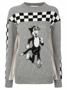 Stella McCartney Dandy print jumper - Grey