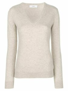 Pringle Of Scotland V-neck fitted sweater - Neutrals