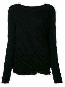 Forme D'expression 'Juxtaposed' pullover - Black