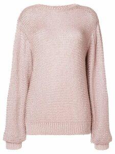 Stella McCartney round neck knit jumper - Pink